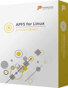 APFS for Linux firmy Paragon Software