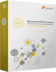 Microsoft NTFS for Linux firmy Paragon Software